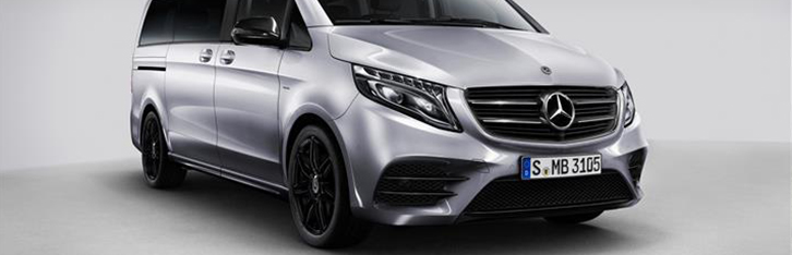 Старт продаж Mercedes-Benz V-Класса Night Edition